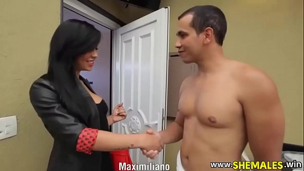 Hot Sexy Shemale in Stockings Needs To Be Fucked